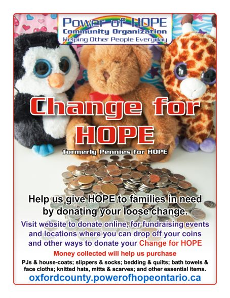 Change for HOPE Oxford County